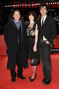 David Warshofsky, Miranda July and Hamish Linklater at the red carpet of the premiere of
