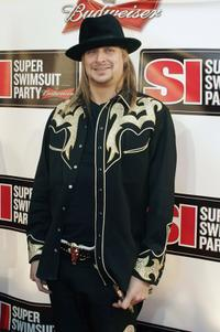 Kid Rock at the Sports Illustrated Super Swimsuit Party.