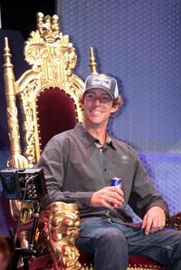 Travis Pastrana at the Red Bull Gets Toasted with Travis Pastrana event.