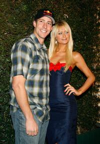Travis Pastrana and Paris Hilton at the Inaugural Arby's Action Sports Awards.