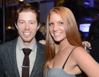 Shaun White and guest at the Rolling Stone Magazine Official 2012 American Music Awards.