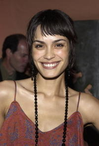 Shannyn Sossamon at Lions Gate International AFM cocktail party.