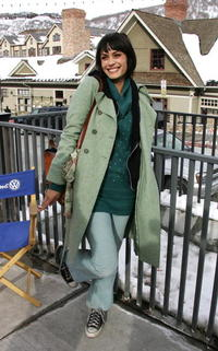 Shannyn Sossamon at the Sundance Film Festival.