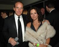 Clark Gregg and his wife Jennifer Grey at the HBOs Post Golden Globe After Party.