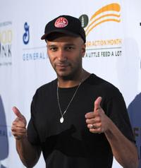 Tom Morello at the Rock A Little, Feed Alot benefit concert.