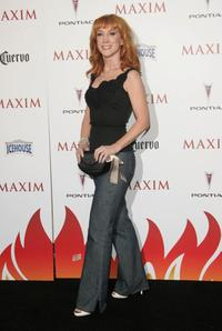 Kathy Griffin at the Maxim Hot 100 Party.
