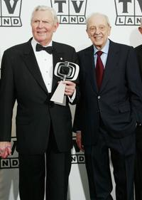 Andy Griffith and Don Knotts at the 2nd Annual TV Land Awards.