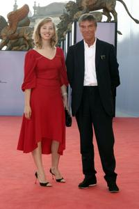 Isild Le Besco and director Benoit Jacquot at the premiere of