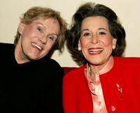Tammy Grimes and Kitty Carlisle Hart at the opening night of