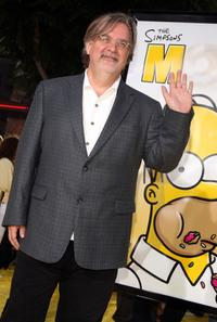 Matt Groening at the Los Angeles premiere of