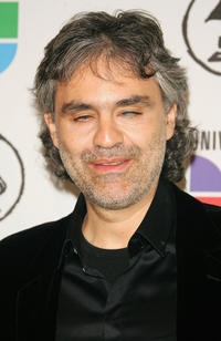 Andrea Bocelli at the 7th Annual Latin GRAMMY Awards in New York.
