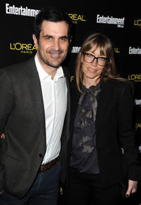 Ty Burrell and Holly at the Entertainment Weekly's celebration honoring the 17th Annual Screen Actors Guild Awards nominees in California.