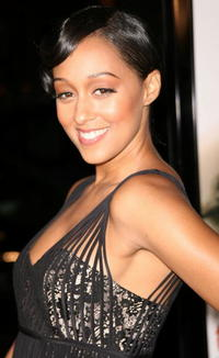 Tia Mowry at the Hollywood premiere of