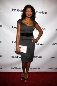 Taraji P. Henson at the Bebe Spring Ad Campaign Announcement.