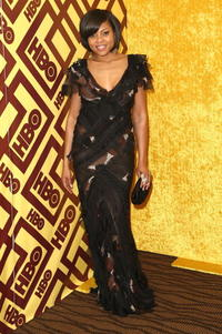 Taraji P. Henson at the official HBO after party for the 66th Annual Golden Globe Awards.