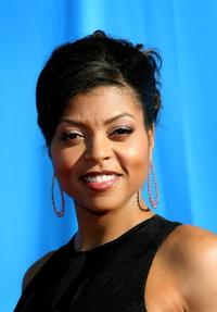 Taraji P. Henson at the 39th NAACP Image Awards.