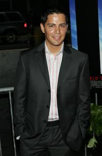Jay Hernandez at the world premiere of