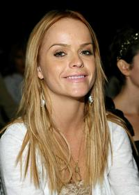 Taryn Manning at the Corey Lynn Calter Spring 2007 fashion show.