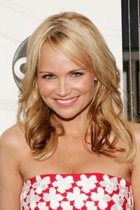 Kristin Chenoweth at the ABC Upfront presentation.
