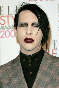 Marilyn Manson at the ELLE Style Awards 2006.