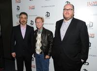 Glenn Ficarra, Phillip Morris and John Requa at the special screening of