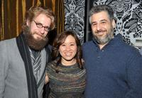 David C. Robinson, Ellen Huang and Glenn Ficarra at the Sundance Glamdance party during the 2009 Sundance Film Festival.
