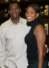 Carl Lumbly and Merrin Dungey at the