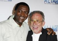 Carl Lumbly and Ron Rifkin at the Alias Season 3 DVD release party.