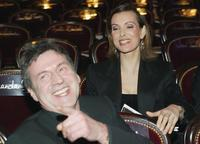 Daniel Auteuil and Carole Bouquet at the 29th Nuit des Cesars.