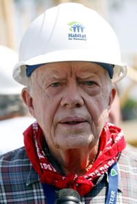 President Jimmy Carter at the