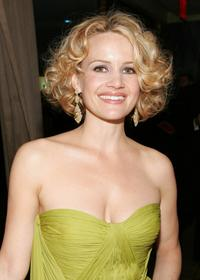 Carla Gugino at the after party for the 61st Annual Tony Awards.