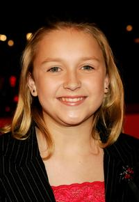 Skye McCole Bartusiak at the premiere of