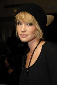 Ashley Scott at the Smashbox Cosmetics Kick Off LA Mercedes Benz Fashion Week.