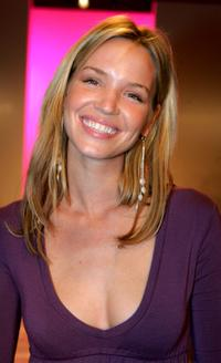 Ashley Scott at the Yana K Spring 2006 show.