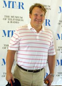 Andy Richter at the Museum of Television and Radio's Third Celebrity Golf Classic.