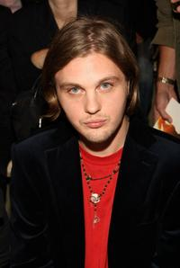 Michael Pitt at the Tommy Hilfiger Spring 2009 fashion show during the Mercedes-Benz Fashion Week.