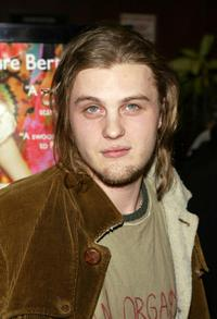 Michael Pitt at the premiere of