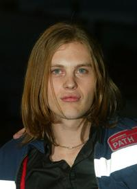 Michael Pitt at the screening of