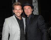 Bradley Cooper and Julian McMahon at the premiere of