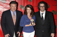 Alec Baldwin, Tina Fey and Judah Friedlander at the 67th Annual George Foster Peabody Awards.