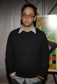 David Wain at the New York premiere of