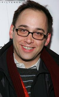 David Wain at the premiere party of