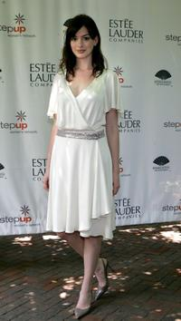 Anne Hathaway at the Step Up Women's Network