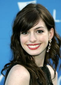 Anne Hathaway at Stephen Sondheim's 75th Birthday Concert And ASCAP Foundation Benefit.