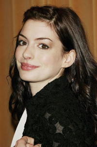 Anne Hathaway at the Motion Picture Club's Annual Luncheon.