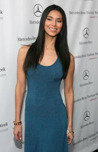 Roselyn Sanchez at Smashbox Fashion Week.