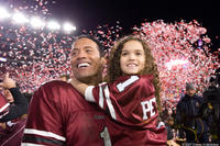 The Rock and Madison Pettis in