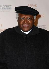 Desmond Tutu at the Robert F. Kennedy Center for Justice and Human Rights Bridge Dedication Gala.
