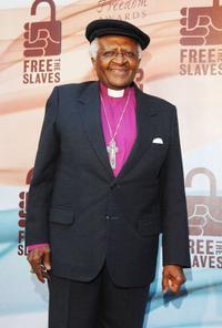Desmond Tutu at the 2008 Freedom Awards.