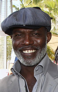 Eriq Ebouaney at the Hollywood Reporter cocktail party during the 64th Annual Cannes Film Festival in France.